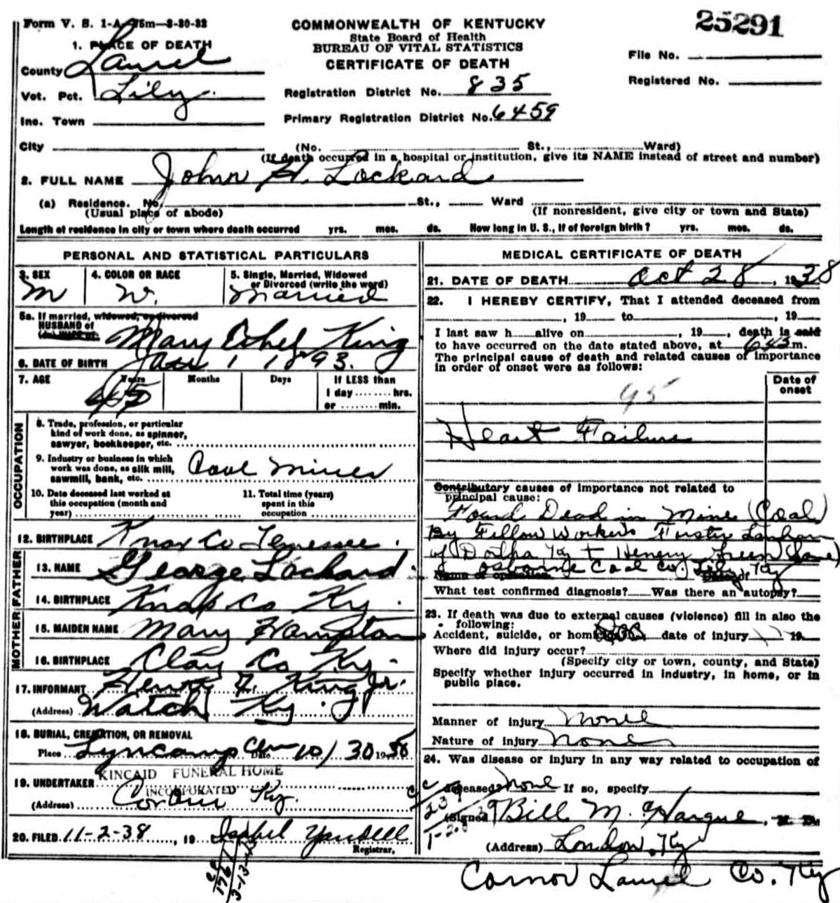 Celia ann link to death certificate aiddatafo Images